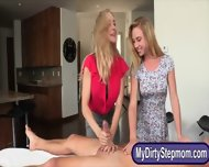 Stepmom Brandi Love Makes A Cock Hard And Shared It With Teen - scene 3
