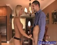 Hot Horny Blonde Loves Cock - scene 2