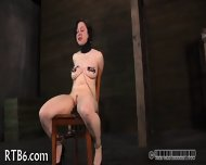 Sweet Babe Gets Lusty Torment - scene 10