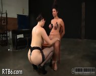 Useless Slut Is Playing Her Clits - scene 12
