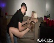 Two Girls Are Gangbanged - scene 6