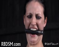 Taming A Lusty Gagged Babe - scene 3