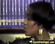 Hot Interracial Lesbian From The Eighties - scene 3
