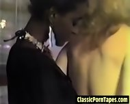 Hot Interracial Lesbian From The Eighties - scene 6