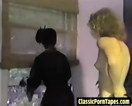 Hot Interracial Lesbian From The Eighties - scene 7