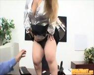 Bossy Midget Fucks Guy - scene 6