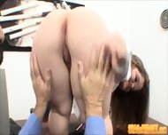 Bossy Midget Fucks Guy - scene 7