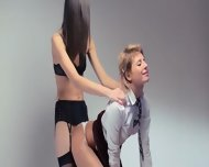 Neverending Strap-on Lesbians Action - scene 8