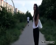 Tight Amateur Chick Screwed Up By Stranger For Money - scene 1