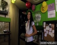 Barmaid Alexa Tomas Flashes Her Tits And Screwed Up For Cash - scene 4