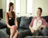 Wam Blowing Milf Swallows - scene 3