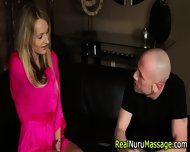 Nuru Masseuse Cum Covered - scene 1