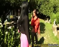 Outdoor Piss Drenched Ho - scene 1