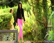 Outdoor Piss Drenched Ho - scene 2