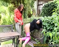 Outdoor Piss Drenched Ho - scene 5