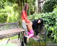 Outdoor Piss Drenched Ho - scene 7