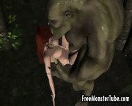 Redhead 3d Elf Babe Getting Fucked Hard By An Orc - scene 11