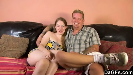 This Slut Loves To Fuck With A Black Guy In Front Her Boyfriend - scene 1