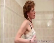 Kinky Granny Just Shaved - scene 12