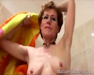 Kinky Granny Just Shaved - scene 6