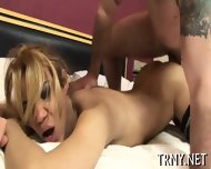Teen Tranny Fucks With Stranger - scene 12