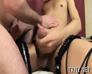 Teen Tranny Fucks With Stranger - scene 7