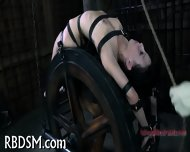 Chained Up Babe Is Punished - scene 12