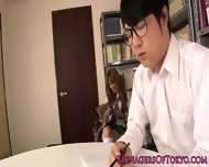 Asian Schoolgirl Fucking Instead Of Studying - scene 1