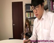 Asian Schoolgirl Fucking Instead Of Studying - scene 2