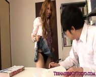 Asian Schoolgirl Fucking Instead Of Studying - scene 4
