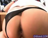 Supple Sexy Brunette Loves Cock - scene 9