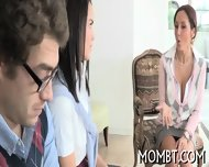Explicit Threesome Thrashing - scene 4