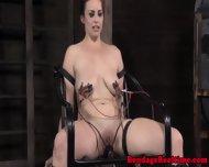Electrosex Sub Gets Nipples Blasted - scene 8