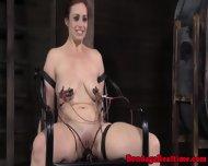 Electrosex Sub Gets Nipples Blasted - scene 9