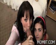Randy And Raunchy Threesome - scene 5