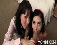 Randy And Raunchy Threesome - scene 7