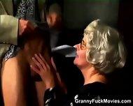 Grandma Turns Into A Real Slut - scene 2