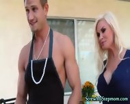 Tempting Blonde Super Stepmom - scene 5