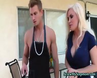 Tempting Blonde Super Stepmom - scene 6