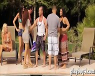 Bunch Of Married Couples Horny Group Sex In Playboys Mansion - scene 1