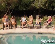 Bunch Of Married Couples Horny Group Sex In Playboys Mansion - scene 3