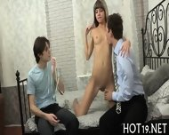 Babe Bounds On Long Cock - scene 2