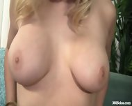 Blonde Teen Fingers Her Puffy Pussy - scene 7