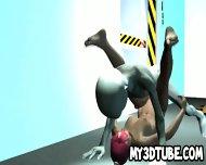Foxy 3d Cartoon Redhead Getting Fucked By An Alien - scene 2