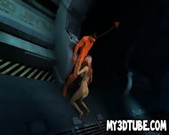 3d Redhead Sucks Cock And Gets Licked By The Devil - scene 10
