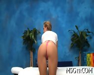 Slender Blondie Enjoys Blowjib - scene 6