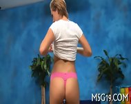 Slender Blondie Enjoys Blowjib - scene 7