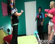 Naughty And Wild Dorm Fucking - scene 5