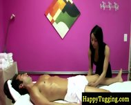 Big Titted Asian Masseuse Paid To Suck - scene 5