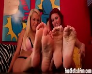 Suck Our Toes Like A Good Little Foot Fetish Loser - scene 2